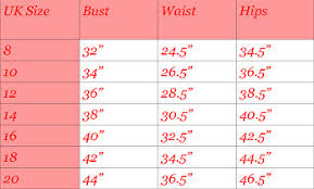 Handmade Skirt Size Chart Size Guide Shes Dynamite Handmade Clothing
