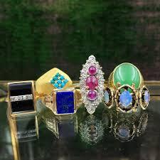 antique rings mid century rings retro rings deco rings men s rings