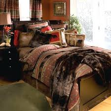country king comforter sets supreme rustic bedding lodge log cabin pertaining to size interior design 29