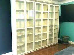 black bookcase glass doors black bookcases with doors billy bookcase with glass doors bookcase doors 3