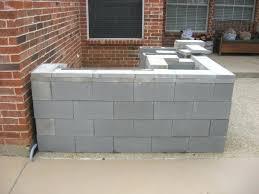 diy outdoor kitchen cinder block elegant cinder block outdoor grill outdoor designs
