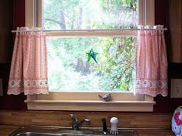 luxurious and splendid curtains for kitchen window designs