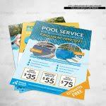 pool service flyers. Pool Service Flyer Spa Corporate Katzeline  Graphicriver Pool Service Flyers N