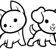 Coloring Pages Cute Animal Coloring Pages Cartoon Learning Friends