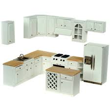 modern dollhouse furniture sets. complete modern dollhouse kitchen set furniture sets