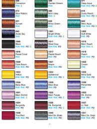 Exquisite Thread Color Chart 27 Abundant Exquisite Embroidery Thread Conversion Chart