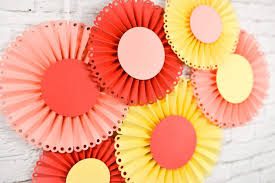 Paper Rosette Flower How To Make Paper Rosettes Using The Cricut Scoring Wheel Or Stylus