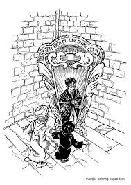 Small Picture 73 best Harry Potter Coloring Pages images on Pinterest Harry