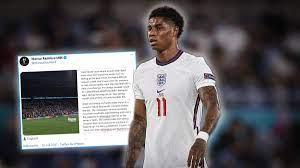 Nach Rassismus-Attacken: England-Star Marcus Rashford reagiert mit  Statement auf Beleidigungen - Sportbuzzer.de