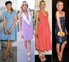dresses for wedding guests spring 2013. celebrity inspired wedding guest: diane kruger dresses for guests spring 2013