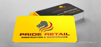 Full Color 30mil Plastic Business Cards Printing
