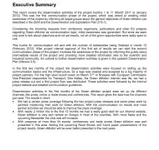 Exle Executive Summary Report - 28 Images - Executive Summary Report ...