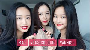 <b>M.A.C Versicolor Varnish</b> on Asian Skin l REVIEW + WEAR TEST ...