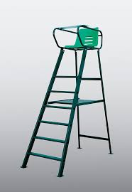 aluminum umpire chair green