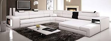 modern italian leather sofa. Modren Sofa White Contemporary Italian Leather Sectional Sofa Inside Modern
