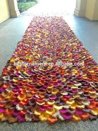 rose petal aisle runner silk rose petal fall wedding aisle runner aisle runner on rose petal aisle runner