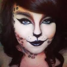 leopard print cat makeup looks holidays decorations