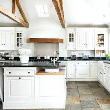 white country kitchen with butcher block. Delighful Country White Country Kitchen With Wooden Beams Ikea  Farm Sink   And White Country Kitchen With Butcher Block