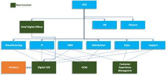 Digital Team Org Chart Digital Transformation 1 Criteria For Success Establish