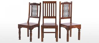 Sheesham Bedroom Furniture Jali Sheesham 120 Cm Chunky Dining Table And 4 Chairs Quercus Living