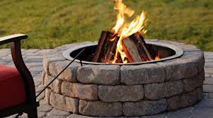 Installing Our Own Diy Stone Fire Pit Belgard S Ashland Fire Pit Kit