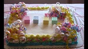 No Fondant Baby Shower Cakes Cake Decorations Walmart Order Online