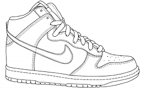 Beautiful Basketball Shoes Drawing Basketball Shoes Drawing Stunning