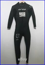 Nine Plus Wetsuit Size Chart Orca Mens Full Triathlon Wetsuit Size 8 Large S1 Speedsuit