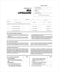 Sample Bsa Health Form 8 Examples In Pdf