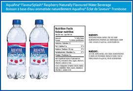 aquafina flavoursplash raspberry naturally flavoured water beverage bmk815