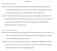 Apa Format Chapter In A Book Term Paper Sample