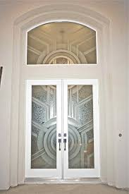 entry door and window glass etched carved gluechipped glass art deco modern contemporary by sans soucie