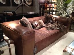 restoration hardware leather couch. Magnificent Fulham Leather Sofa With Restoration Hardware Look For Less Couch