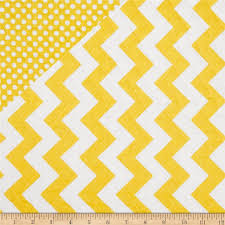 13 best Double-sided Quilt Fabric images on Pinterest   Circles ... & Riley Blake Double Sided Quilted Medium Chevron Yellow from @fabricdotcom  From Riley Blake this double Adamdwight.com