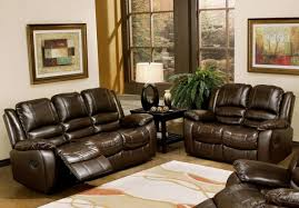 contemporary leather reclining sofa and loveseat set com abbyson living levari reclining