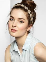 Hairband Hairstyle baublebar crystal dandelion hair band in metallic lyst 7378 by wearticles.com