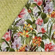 Botanical Society Large Floral Double Sided Quilted from ... & Botanical Society Large Floral Double Sided Quilted from @fabricdotcom  Designed for Fabri-Quilt, Adamdwight.com