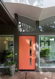 mid century front dooraustin front door window entry midcentury with cutouts modern