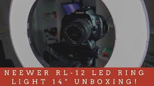 Neewer Rl 12 Led Ring Light