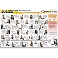 Multi Gym Exercise Chart Inspire Fitness M3 Multi Gym