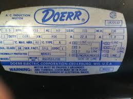 doerr motor wiring diagram data schematic diagram doerr lr22132 motor diagram