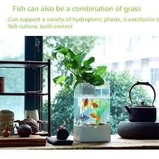 office desk aquarium. Office Desk Fish Tank Ecological Square Usb Interface Aquarium Integration Goldfish Filter C