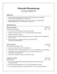 Traditional Resume Template Lovely Image Of Resume Format Manqal
