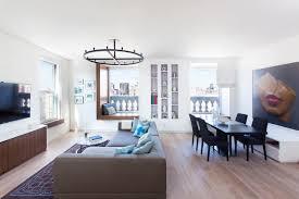 modern apartment living room design. Two Apartments Bee A Modern Nyc Home Design Milk Apartment Living Room R