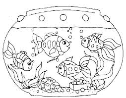 Aquarium Coloring Pages Aquarium Coloring Pages Tank Coloring Pages