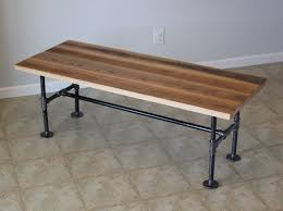 industrial pipe furniture. Custom Made Reclaimed Barn Wood Coffee Table With Industrial Pipes Pipe Furniture S