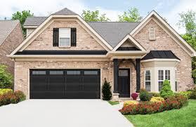black garage doorGarage Doors  Fascinating Wayneton Garage Door Picture Concept