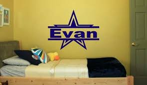 dallas cowboys wall decals cowboys wall decals star with name for bedroom wall kids art decor dallas cowboys wall decals  on dallas cowboys logo wall art with dallas cowboys wall decals cowboy wall decal decals cowboys male