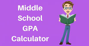 Gpa Chart Grade Calculator | Middle School GPA Calculator