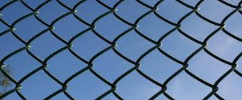 Chain Link Fence from Stock Procter Fencing Materials